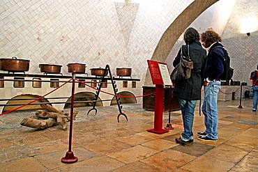 kitchen, Nacional Palace, Sintra, Portugal