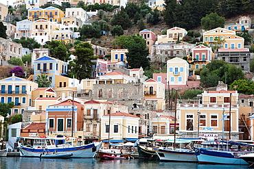 Greek Island Symi, Dodecanese, Greece