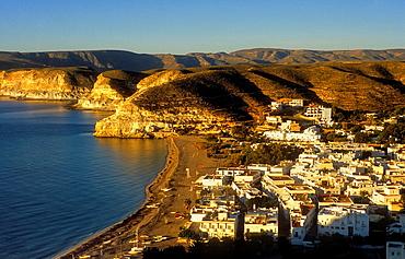 Agua amarga Cabo de Gata-Nijar Natural Park Biosphere Reserve, Almeria province, Andalucia, Spain