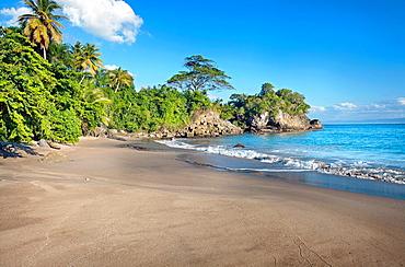 Los Cacaos beach Samana Peninsula, Dominican Republic, West Indies, Caribbean