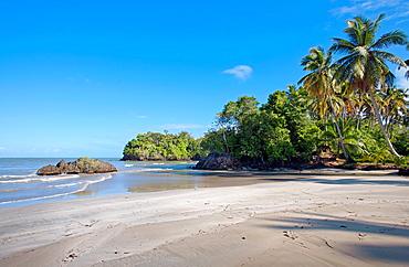 Las Ballenas beach, Las Terrenas, Samana Peninsula, Dominican Republic, West Indies, Caribbean