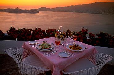 Acapulco, Bella Vista, catering, coast, cuisine, desk, dishes, dusk, flowers, food, Guerrero, holidays, kitchen, Mex. Acapulco, Bella Vista, catering, coast, cuisine, desk, dishes, dusk, flowers, food, Guerrero, holidays, kitchen, Mex