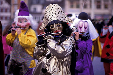 Basle, carnival, city, costumes, folklore, masks, morning prank, move, music, no model release, Basel, relocation, S. Basle, carnival, city, costumes, folklore, masks, morning prank, move, music, no model release, Basel, relocation, S