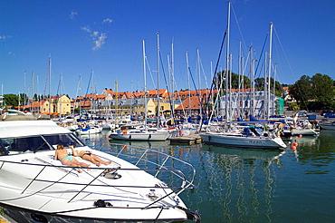 harbor, harbor, Visby, Gotland, Sweden, Europe, Scandinavia, EU, European, travel, holiday, vacation, island, Swedish, . harbor, harbor, Visby, Gotland, Sweden, Europe, Scandinavia, EU, European, travel, holiday, vacation, island, Swedish,