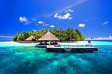 Maldives, Asia, North Male Atoll, coast, sea, Indian ocean, landscape, island, blue sky, holiday, holidays, vacations, . Maldives, Asia, North Male Atoll, coast, sea, Indian ocean, landscape, island, blue sky, holiday, holidays, vacations,