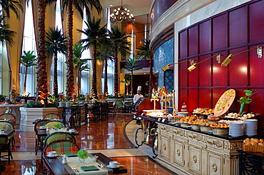 Qatar, Lagoon Buffet, Ritz_Carlton Hotel Doha, Doha, Arabian Peninsula, eastern, oriental, Orient, luxurious, luxury, . Qatar, Lagoon Buffet, Ritz_Carlton Hotel Doha, Doha, Arabian Peninsula, eastern, oriental, Orient, luxurious, luxury,