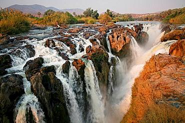Namibia, Africa, Epupa Falls, waterfalls, Kunene River, Summer 2007, Africa, landscape, rocks, rock, water, canyon, na. Namibia, Africa, Epupa Falls, waterfalls, Kunene River, Summer 2007, Africa, landscape, rocks, rock, water, canyon, na