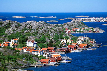 Sweden, Europe, Smogen, fishing village, coast, sea, landscape, Bohuslan, boats, Europe, travel, islets, skerries, Sca. Sweden, Europe, Smogen, fishing village, coast, sea, landscape, Bohuslan, boats, Europe, travel, islets, skerries, Sca