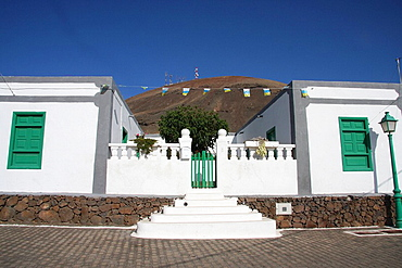Lanzarote island, Spain, Europe, Canary islands, Femes, travel, volcanism, volcanic Landscape, scenery, house, home, b. Lanzarote island, Spain, Europe, Canary islands, Femes, travel, volcanism, volcanic Landscape, scenery, house, home, b