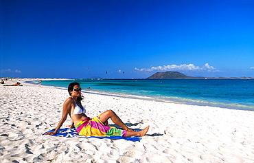 Fuerteventura, Canaries, Canary islands, island, Spain, Europe, outside, daytime, Corralejo, beach, coast, sea, ocean, . Fuerteventura, Canaries, Canary islands, island, Spain, Europe, outside, daytime, Corralejo, beach, coast, sea, ocean,