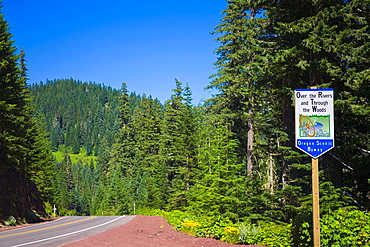 United States, North America, Oregon, Willamette, National Forest, Highway 126, Oregon Scenic Byway, USA, America, Uni. United States, North America, Oregon, Willamette, National Forest, Highway 126, Oregon Scenic Byway, USA, America, Uni