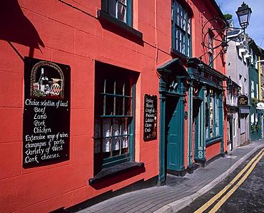 Ireland, Europe, Kinsale, County Cork, restaurant, Irish Republic, town, food, travel, holiday, vacation, Munster, EU, . Ireland, Europe, Kinsale, County Cork, restaurant, Irish Republic, town, food, travel, holiday, vacation, Munster, EU,