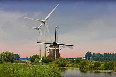 Holland, Netherlands, Holland, Europe, travel, Windmills, modern, tradition, energy, turbine, propeller, canal, wind, . Holland, Netherlands, Holland, Europe, travel, Windmills, modern, tradition, energy, turbine, propeller, canal, wind,