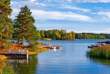 Sweden, Stockholm, Archipelago, Background, Baltic. Sweden, Stockholm, Archipelago, Background, Baltic