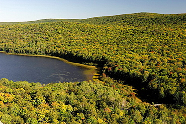 view, Lake of the Clouds, nature, Porcupine Mountains, Wilderness, State Park, Michigan, USA. view, Lake of the Clouds, nature, Porcupine Mountains, Wilderness, State Park, Michigan, USA