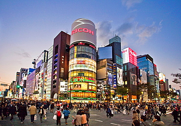 Tokyo, city, Japan, November, Asia, district, Ginza, Chuo avenue, street, place, crossroad, intersection, pedestrian, passer_by, pedestrian, dusk, twilight, lights, illumination, Tokyo, neon lights. Tokyo, city, Japan, November, Asia, district, Ginza, Chuo avenue, street, place, crossroad, intersection, pedestrian, passer_by, pedestrian, dusk, twilight, lights, illumination, Tokyo, neon lights
