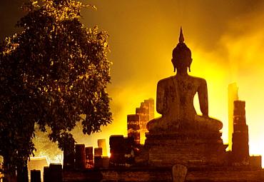 Fireworks in Sukhothai