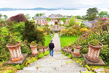 Bantry House and Garden, County Cork, Ireland, Europe