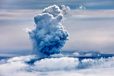 Grimsvotn Volcanic Eruption in the Vatnajokull Glacier, Iceland The eruption began on May 21, 2011 spewing tons of ash, initially the plume was over 20 kilometers high