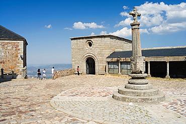 Santuario de la Pena de Francia, Capilla de La Blanca, Sanctuary of Rock of France, The Whites Chapel, El Cabaco, Salamanca province, Castilla y Leon, Spain