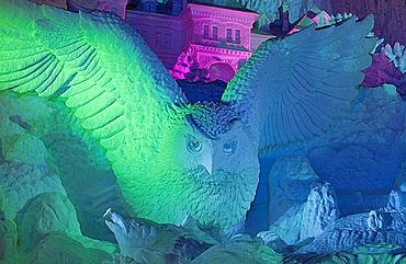 Sapporo snow festival, snow sculpture, Odori Park, Sapporo, Hokkaido, Japan