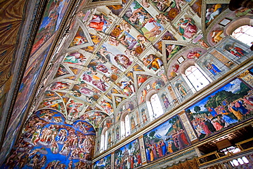 Michelangelos Sistine Chapel and The Last Judgement, Rome, Italy