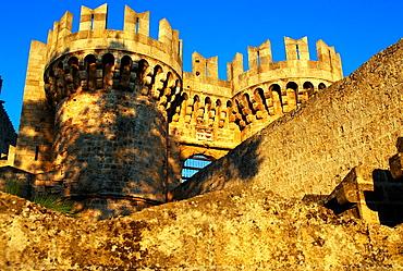 Gran Maestre Palace XIV Century Collachium Rhodes City Rhodes Island Greece.