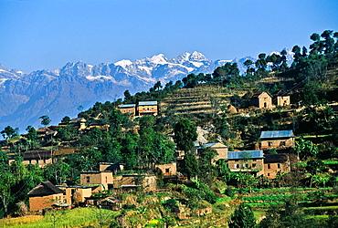 Nagarkot Himalaya Nepal