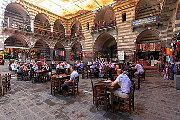 Turkey, Diyarbakir, Hasan Pasa Hani, ancient caravanserai,