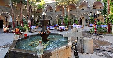 Turkey, Diyarbakir, Hotel Buyuk Kervansaray, converted caravanserai,