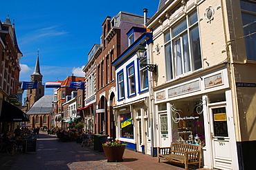 Kaizerstraat street Scheveningen district Den Haag the Hague province of South Holland the Netherlands Europe