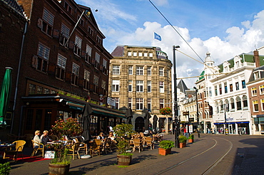 Groenmarkt central Den Haag the Hague province of South Holland the Netherlands Europe