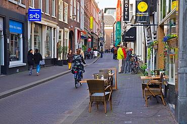 Molenstraat street Hofkwartier central Den Haag the Hague province of South Holland the Netherlands Europe