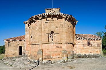 La Asuncion de Nuestra Senora church, Jaramillo de la Fuente, Burgos province, Castille-Leon, Spain