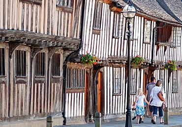 Stratford upon Avon timber framed Tudor buildings Warwickshire UK