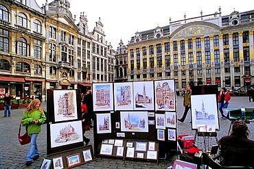 Belgium, Bruxelles, Brussels, Grand Place