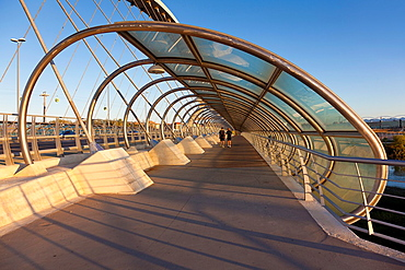 Bridge of thrid millenium, Zaragoza, Aragon, Spain