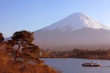 Mt Fuji from Kawaguchi Lake, Kawaguchiko, Yamanashi prefecture, Japan