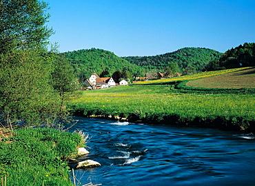 Vorra-Artelshofen, Pegnitz, Frankische Schweiz-Veldensteiner Forst, Franconia, Bavaria, Germany