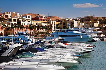 Jordan, Aqaba, Tala Harbor development, marina