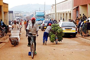 Africa, Burundi, Bujumbura, City