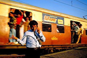 Mumbai local train, India