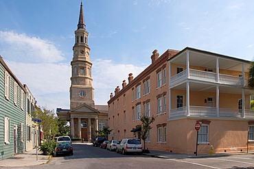 St Philip's Episcopal Church, 1835-1838, Church Street, Charleston, South Carolina