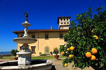 Italy, Tuscany, Sesto Fiorentino, Villa la Petraia