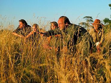 People in a safari, People in a safari