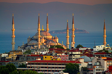 Sultan Ahmed Mosque or Blue Mosque Istanbul, Turkey