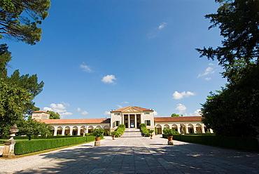 Italy, Fanzolo, Villa Emo by Palladio.