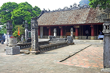 Temple Hoa Lu ancient capital near Ninh Binh north Vietnam