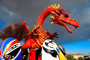 Viareggio carnival, Lucca, Tuscany, Italy - 817-343045