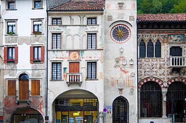 Italy, Vittorio Veneto, Serravalle, Flaminio square.